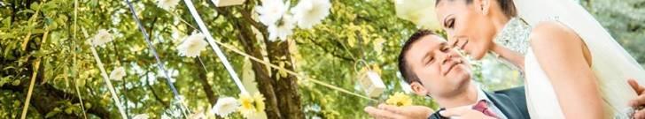 Лятна сватба в ресторант-градината на Вила Марциана - Варна Лятна сватба в райската градина на ресторант Вила Марциана до Варна